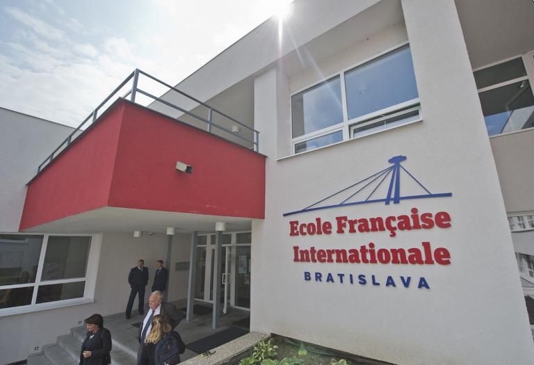 Une belle rentrée à l'École française