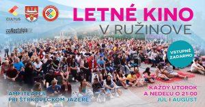 Cinéma d'été à Ružinov avec des films français