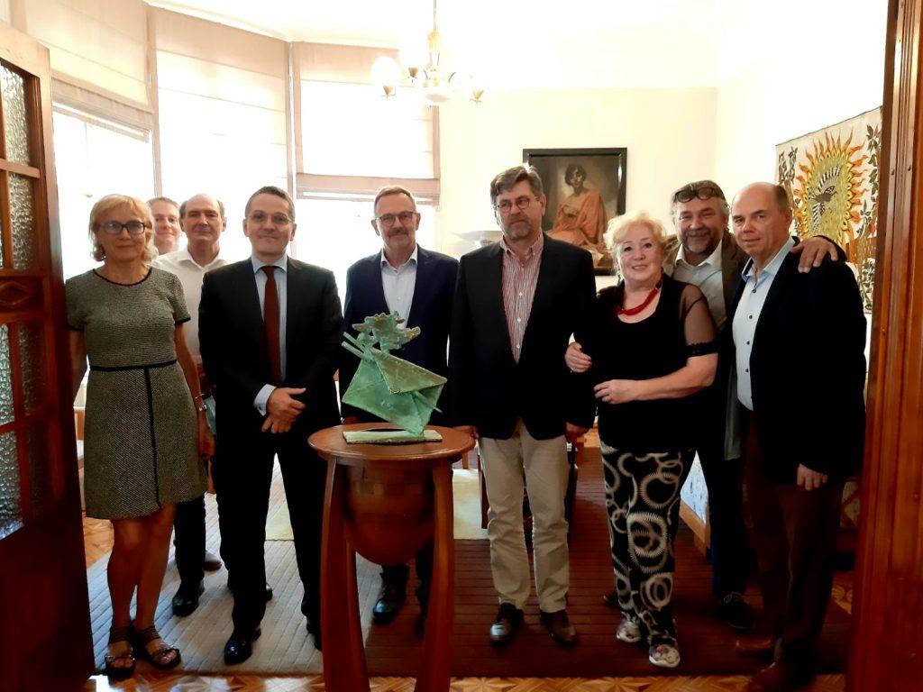Réunion du comité du Prix Imro Weiner-Kráľ