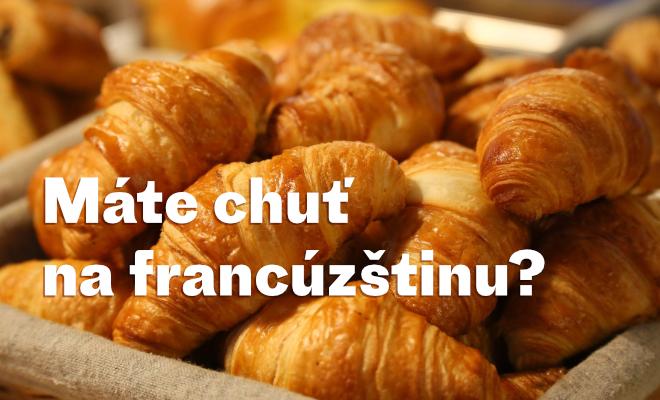 Jeseň je zadverami, francúzština volá!