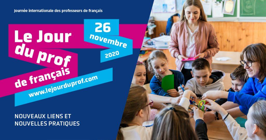 Journée du professeur de français 2020