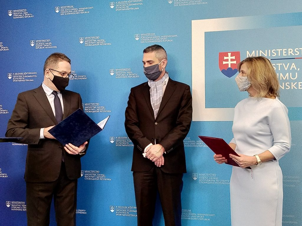 Remise du Prix Štefánik