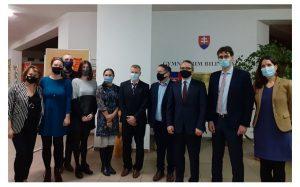Visite du lycée bilingue de Žilina
