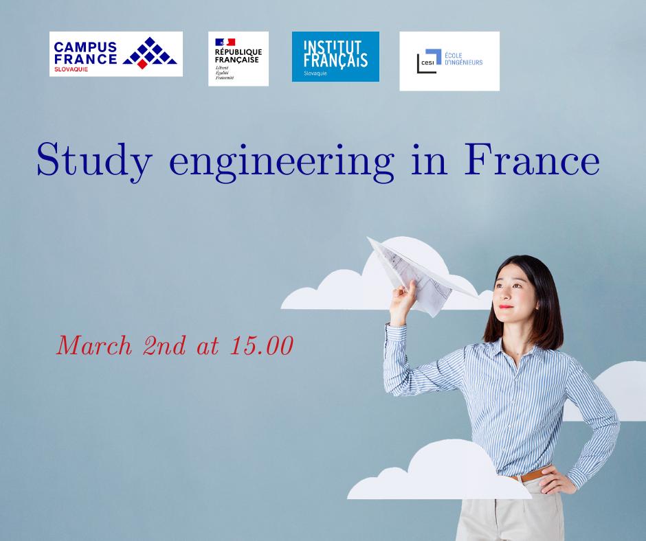 Webinaire : études d'ingénieurs en France