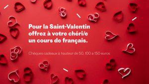 Idée de cadeau pour la Saint-Valentin