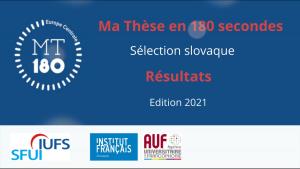 Môj doktorát za180 sekúnd – výsledky slovenského kola súťaže