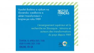 L'enseignement supérieur et la recherche en Slovaquie : témoins et acteurs des transformations du pays depuis 1989